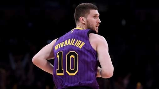Українець Михайлюк провів найрезультативніший матч в НБА: відео