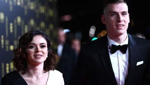 Андрій Лунін – п'ятий серед найкращих молодих футболістів 2019 року: фото та відео з церемонії