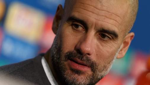 """Гвардіола сконфузився, переплутавши """"Манчестер Сіті"""" з """"Баварією"""": відео"""