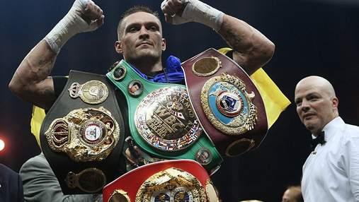 Усик приблизился к Тайсону Фьюри в рейтинге WBC