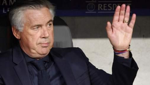 """Після розгромної перемоги у ЛЧ """"Наполі"""" звільнив Анчелотті: на тренера вже є претенденти в АПЛ"""
