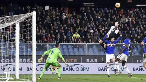 Роналду забил невероятный гол головой, подпрыгнув на фантастическую высоту: видео