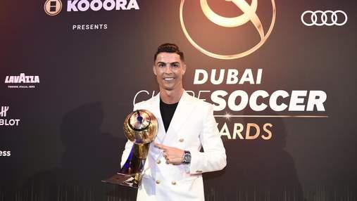 """Роналду – лучший футболист, """"Ливерпуль"""" – лучшая команда по версии Globe Soccer Awards"""