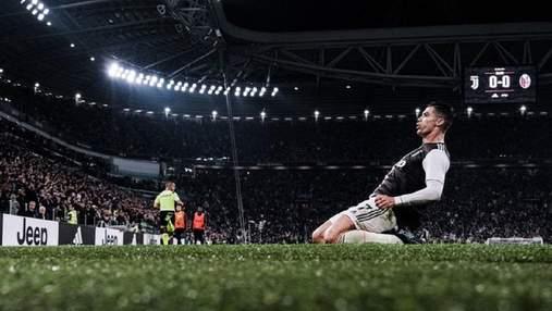 """Хет-трик Роналду помог """"Ювентусу"""" одержать разгромную победу в первом матче года"""