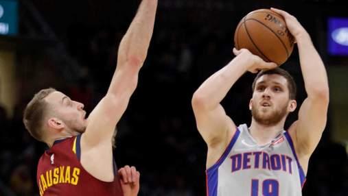 Украинец Михайлюк установил два личных рекорда в матче НБА: видео