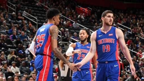 """""""Детройт"""" з Михайлюком зазнав драматичної поразки в НБА: відео"""