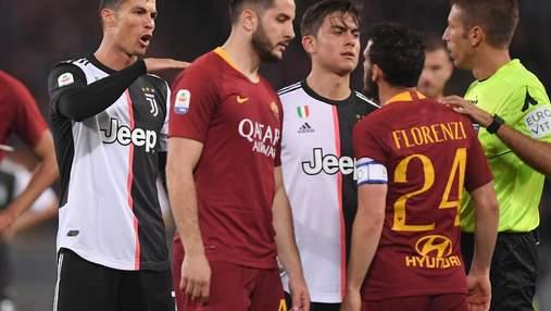 Рома – Ювентус: где смотреть онлайн матч Серии А