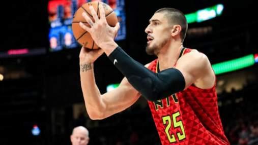 Сразу два эпизода с участием украинца Леня попали в топ-10 моментов НБА: видео