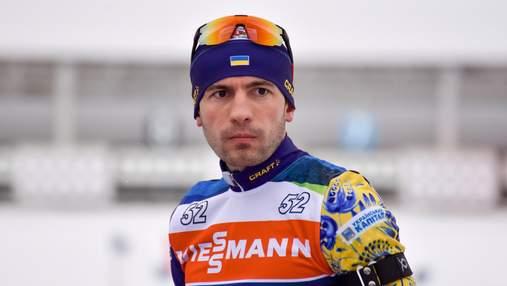 Украинский биатлонист Ткаленко впервые в карьере стал призером Кубка IBU