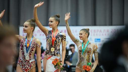 Сборная Украины поедет в Москву на соревнования по художественной гимнастике