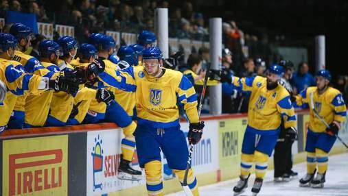 Збірна України з хокею розгромно поступилася Казахстану у кваліфікації на Олімпіаду-2022