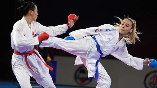 Терлюга стала первой в истории Украины каратисткой с лицензией на Олимпийские игры