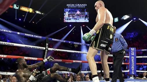 Ф'юрі технічним нокаутом переміг Уайлдера і став новим чемпіоном WBC