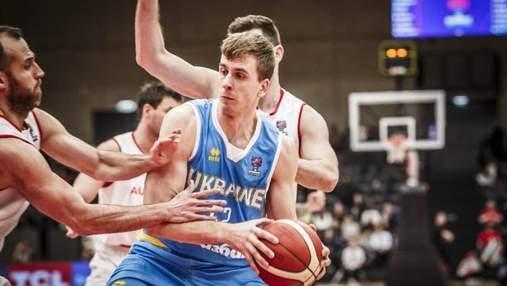 Сборная Украины победно стартовала в отборе на Евробаскет-2021