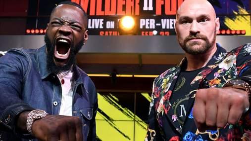 Деонтей Уайлдер – Тайсон Ф'юрі: стали відомі гонорари боксерів за чемпіонський бій 22 лютого