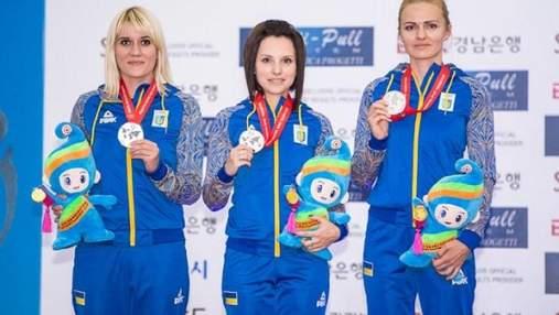 Сборная Украины по стрельбе завоевала золото чемпионата Европы, обойдя Россию