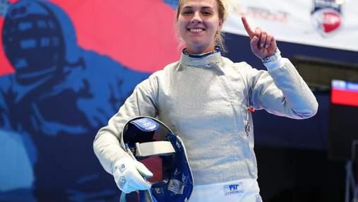 Рекорд Ольги Харлан: украинская саблистка снова лучшая спортсменка месяца