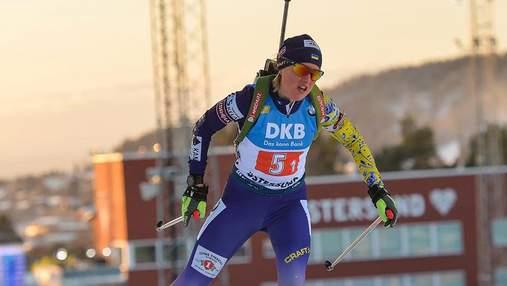 Чемпіонат Європи з біатлону: двоє українок у топ-10