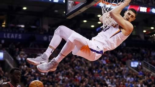 Эффектный данк украинца Леня попал в топ-10 моментов НБА: видео