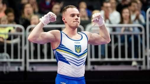 Гімнаст Верняєв здобув срібло на етапі Кубка світу в США