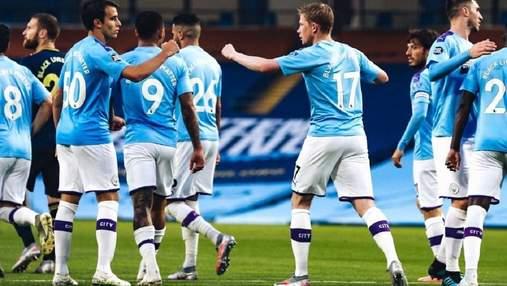 """Три сухих м'ячі принесли перемогу """"МанСіті"""" над беззубим """"Арсеналом"""": відео"""