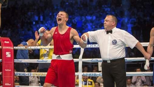 Украинец Хижняк нокаутировал соперника в борьбе за лицензию на Олимпиаду: видео