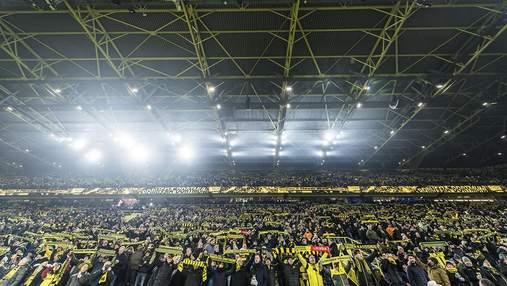 """""""Боруссія"""" увімкнула легендарну пісню на порожньому стадіоні та звернулася до фанів: відео"""