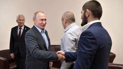 Хабиб не будет просить у Путина частный самолет, чтобы провести бой с Фергюсоном