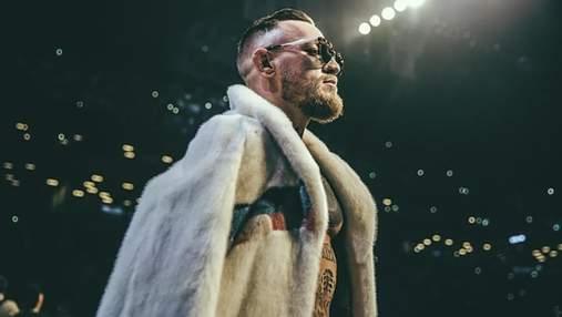 Конор МакГрегор прийняв виклик легендарного боксера