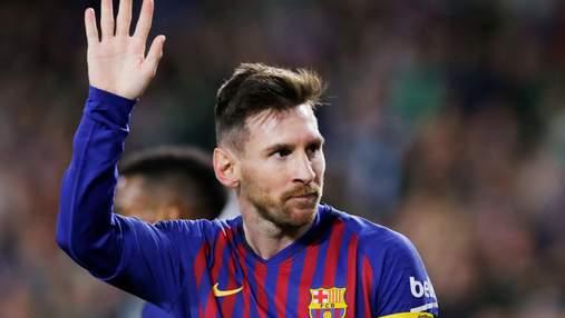 """Месси на тренировке """"Барселоны"""" показал невероятную технику отбора мяча: видео"""