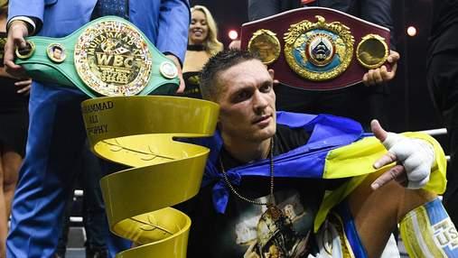 Вместе с Фьюри и Альваресом: Чисора включил Усика в тройку лучших боксеров планеты