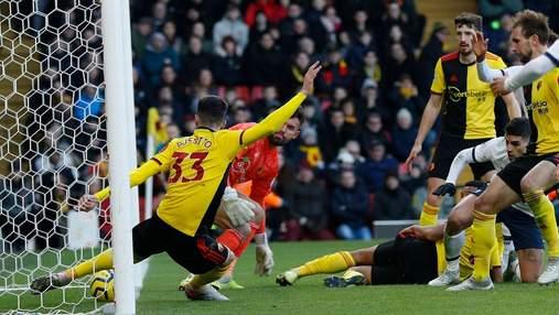 """""""Уотфорд"""" благодаря яркому гола в компенсированное время отобрал очки у """"Лестера"""" в АПЛ: видео"""