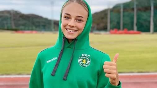 Красавица Билодид перевоплотилась в футболистку и ошеломила фигурой: фото