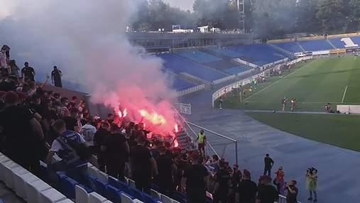 """Фанати """"Динамо"""" прорвалися на стадіон під час матчу: реакція Григорія Суркіса"""