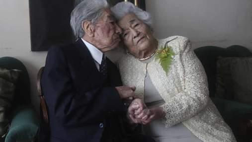 На двоих 215 лет: супруги из Эквадора стали самой старой парой в мире