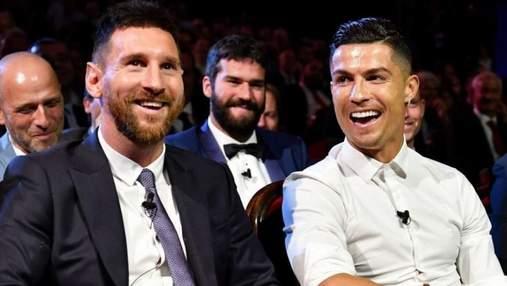 Хто став найбільш високооплачуваним футболістом світу – Мессі чи Роналду: рейтинг Forbes