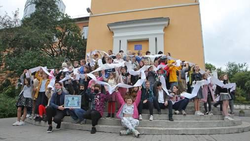 Поздравление учителям от учеников попало в Книгу рекордов Украины: детали и фото