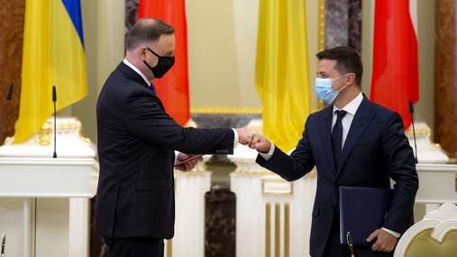 Зеленський заговорив про можливість проведення Олімпіади чи Чемпіонату світу з футболу з Польщею