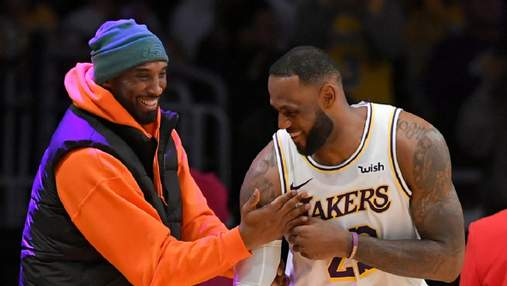ЛеБрон Джеймс трогательно посвятил победу в НБА погибшему Браянту