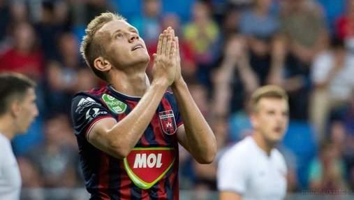 Петряк забил шикарный гол в девятку ворот в Венгрии: видео