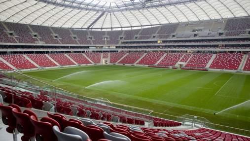 В Варшаве больных коронавирусом будут размещать на стадионе, где проводили Евро-2012