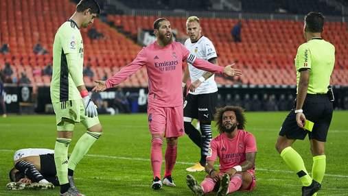 """""""Валенсия"""" благодаря трем пенальти нанесла позорное поражение """"Реалу"""": видео"""