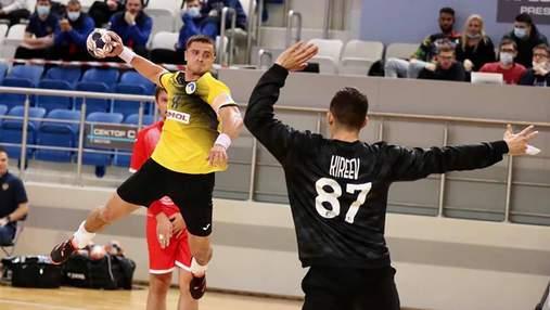 Україна програла Росії у матчі відбору на гандбольне Євро