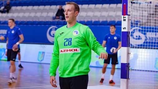 Подвійний сейв українського воротаря став найкращим у турі відбору на гандбольне Євро: відео