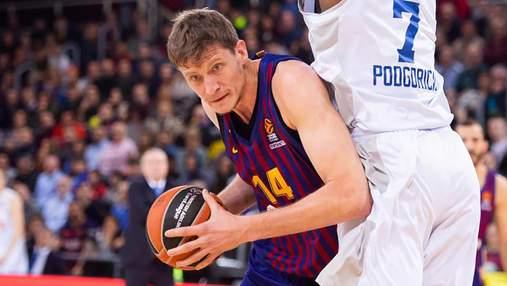 Баскетболист сборной Украины Пустовой продолжает издеваться над соперниками в Испании
