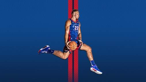 """""""Детройт"""" українця Михайлюка представив форми на новий сезон НБА: фото та відео"""