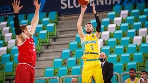 Сборная Украины досрочно завоевала путевку на Евробаскет-2022