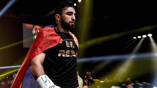 Вірменин встояв після нокдауну та нокаутував росіянина потужним ударом у печінку: відео