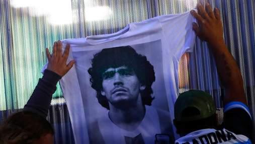 Портрет Марадоны хотят разместить на банкнотах в Аргентине