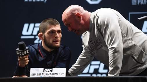 Президент UFC хоче переконати чемпіона Хабіба повернутись: мрія батька може здійснитись